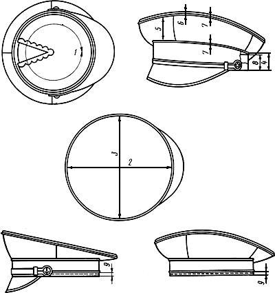Как сделать капитанскую фуражку из бумаги