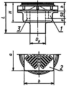 ГОСТ 1811-97 Трапы для систем канализации зданий. Технические условия
