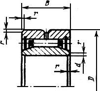 ГОСТ 4657-82 (СТ СЭВ 1988-79) Подшипники роликовые радиальные игольчатые однорядные. Основные размеры. Технические требования