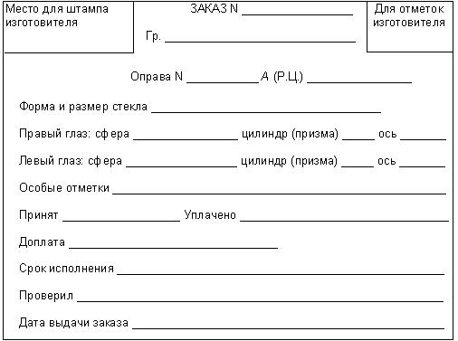 ГОСТ Р 51193-98 Очки корригирующие. Общие технические условия